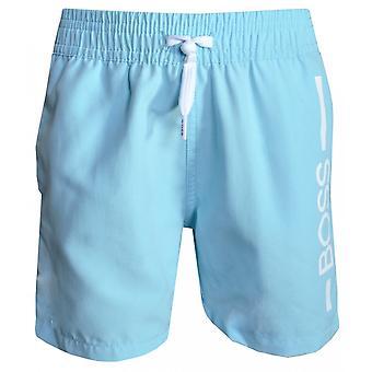 Hugo Boss Boys Hugo Boss Infant Light Blue Swim Shorts