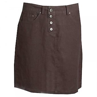 Oui Front Button Loose Fit Skirt