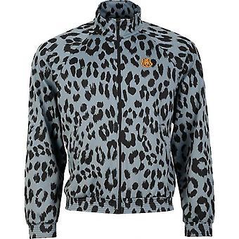 Kenzo Leopard Print Track Top