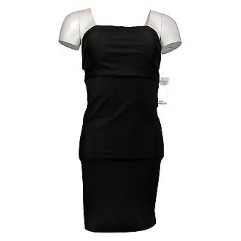 فستان فوري فايغوري (XXL) نايلون أسود بدون حمالات A430827