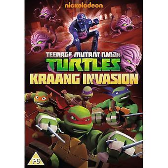 Teenage Mutant Ninja Turtles: Kraang Invasion DVD
