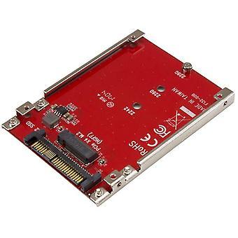 Adaptateur hôte StarTech M.2 Drive to U.2 (SFF-8639) pour SSD M.2 PCIe NVMe