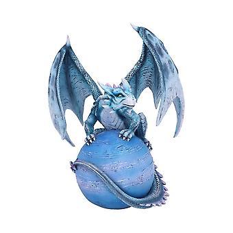 Mercury Guardian Turquoise Planet Dragon Beeldje