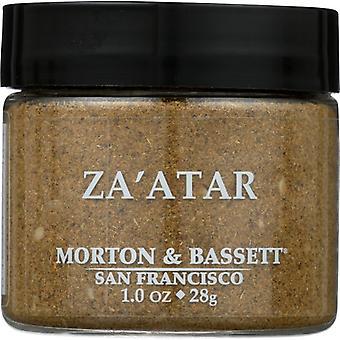 Morton & Bassett Seasoning Zaatar, Case of 3 X 1 Oz