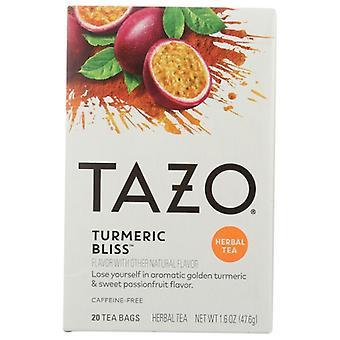 Tazo Tea Bag Tumeric, Case of 6 X 20 Bags