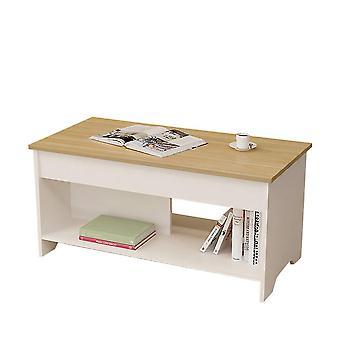 Coffee 100x50x48.5cm multifunctional lifting sofa table homi4526
