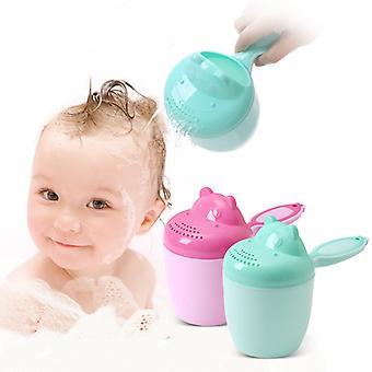 Baby Shower Spoons Waterfall Rinser Kids Shampoo Rinse Cup Children Bathing Washing Head Tool