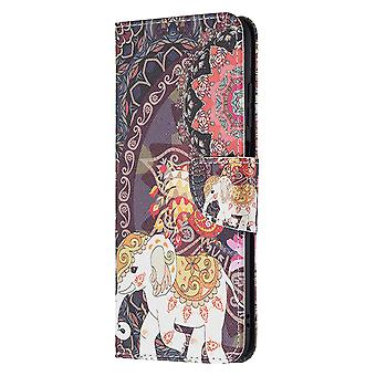 Samsung Galaxy A03s Case Pattern Magnetic Protective Cover Totem Elephant