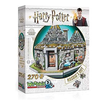 3D Puzzle Harry Potter Hagrid's Hut Wrebbit (270 pcs)