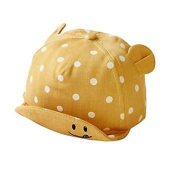 الأطفال قبعات الشمس طفل قبعة لطيف نقطة طفل قبعات فتاة صبية قبعة الشمس مع الأذن لتصوير حديثي الولادة الربيع الدعائم قبعة البيسبول