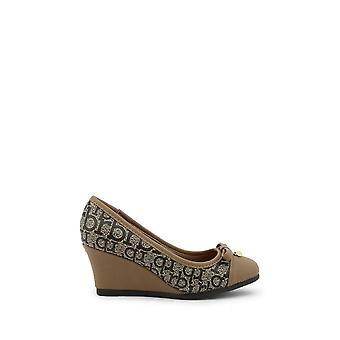 Roccobarocco - Sapatos - Bombas de cunha - RBSC1JH01CRY-FANG-TAUPE - Mulheres - bronzeadas, seladas - EU 37
