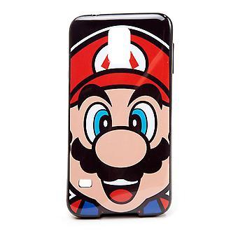 Super Mario Bros. Mario Face Phone Cover for Samsung S5