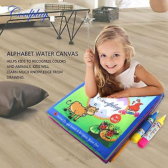 Kids Coloring Painting Book Early Enlightenment Drawing Water Drawing Book