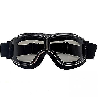 Retro Goggles Leather Motorcycle Goggles 4