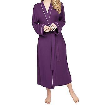 Cyberjammies Margo 4979 Women's Purple Modal Dressing Gown