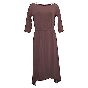 Brittany Humble Women's Dress Petite B.E. Ready Midi Purple 753827