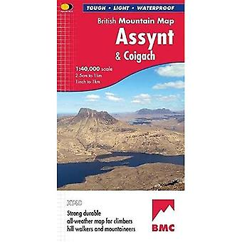 Assynt & Coigach (British Mountain Map)