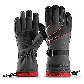 Winter Cycling Ski Gloves Windproof Waterproof Thermal Touch Screen Mittens