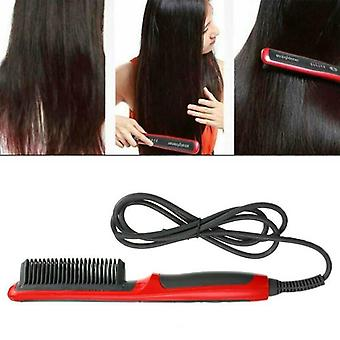 Hair Straight Styler Straightener Ionic Curler Ceramics Curling Styling Comb