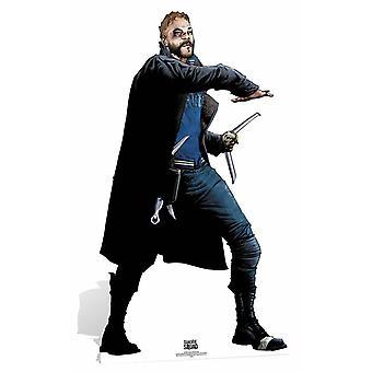 Kapteeni Bumerangi itsemurha Squad sarjakuva taidetta Lifesize pahvi automaattikatkaisin / seisoja / Stand Up