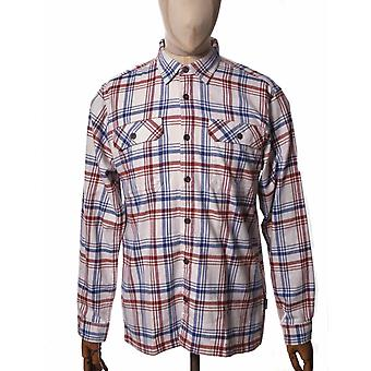 Patagonia Organic Cotton Midweight Fjord Flannel Shirt - Drifted: Cornice Grey