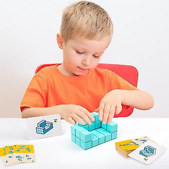 Diikamiiok Early Education Of Children's Spatial Cognitive Logical Thinking Training With Soma Blocks