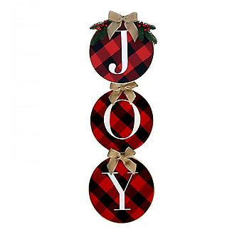 Merry Christmas Decorations Wreath Christmas Hanging Sign  Holiday Decor