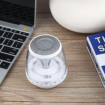Led Wireless Bluetooth Speakers Hands-free Support Tf Card Reading Usb Fm