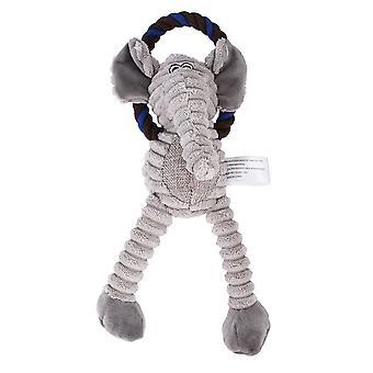 Pískavé psí hračky Pes Plyšové hračky Žvýkat hračky Hračky Hračky Hračky Fo Psi Hrajíelephant)