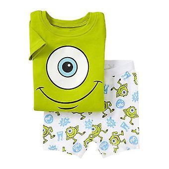 Kids Boy Mr.q Short Sleeve T-shirt Top Shorts Set Summer Outfit Clothes