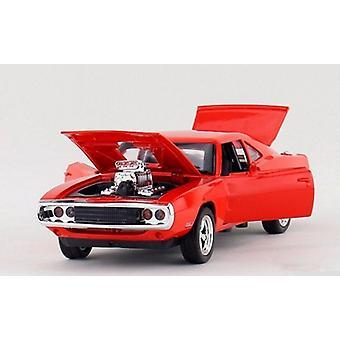 1:32 Fast And Furious Dodge Alloy Model Samochodu Dziecięca Zabawka
