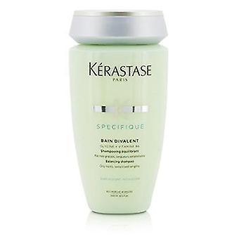 Kerastase Specifique Bain Divalent Balancing Shampoo (oily Roots Sensitised Lengths) - 250ml/8.5oz