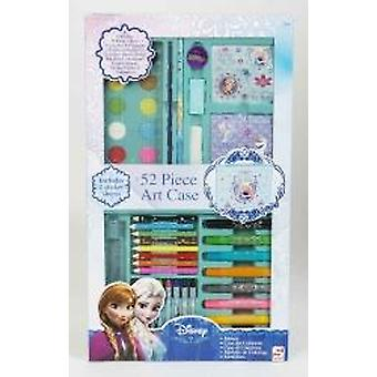 Children Colouring and painting Frozen Movie Theme 52pc Art Set Gift For Learners