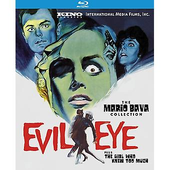 Evil Eye (Featuring the Girl Who Knew Too Much) [BLU-RAY] USA import