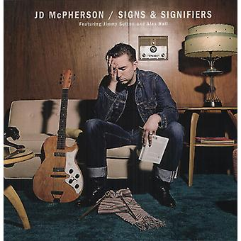 JD McPherson - importation USA signes & signifiants [Vinyl]