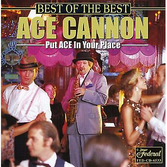 Ace Cannon - Best of the Best [CD] USA import