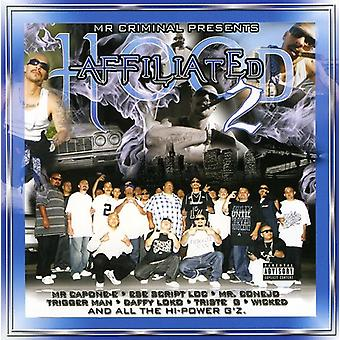 Mr. Criminal Presents - Hood Affiliated Pt. 2 [CD] USA import