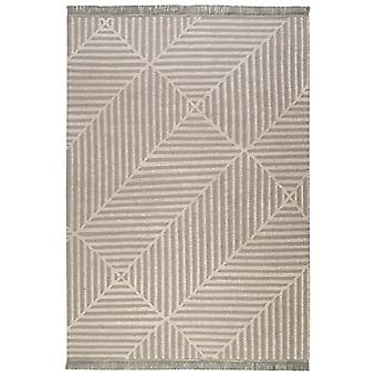 Irregular Fields Rugs 0008 02 By Carpets & Co In Grey And Beige