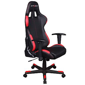 DX Racer DXRacer OH/FD99/NR High-Back Ergonomic Computer Desk Chair PU(Black/Red)
