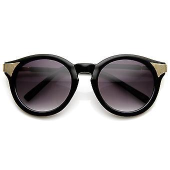Damenmode-P3-Kreis um Cat-Eye-Sonnenbrille