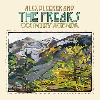 Alex Bleeker & the Freaks - Country Agenda [CD] USA import