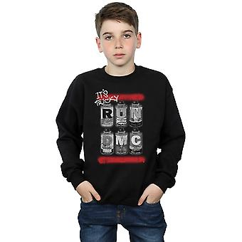Run DMC Boys Spray Cans Sweatshirt
