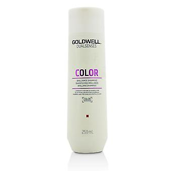 Goldwell Dual Senses färg Brilliance Shampoo (luminositet för fint till normalt hår)-250ml/8.4 oz