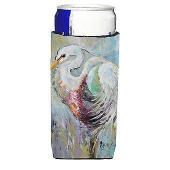 Blanco Garza Ultra bebidas aisladores para latas de slim