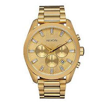 Nixon de kogel Chrono Crystal All Gold (A931502)