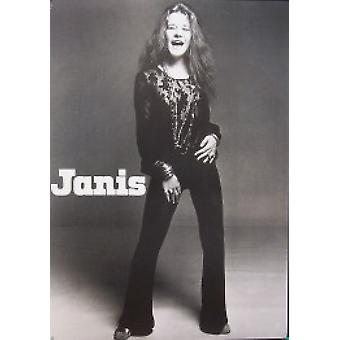 Janis Joplin Standing Poster Poster Print