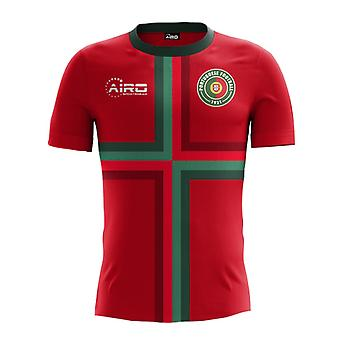 2018-2019 Portugal Home Concept Football Shirt (Kids)