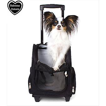 Valentina Valentti Deluxe Pet Travel Carrier Trolley
