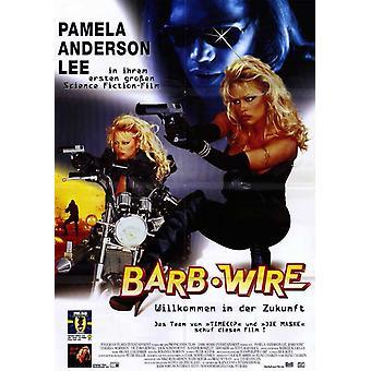 Locandina del film Barb Wire (11 x 17)