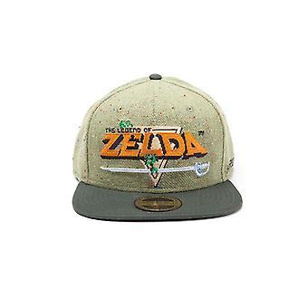The Legend Of Zelda 8-Bit Logo Snapback Cap - multicolour (SB097510ZEL)